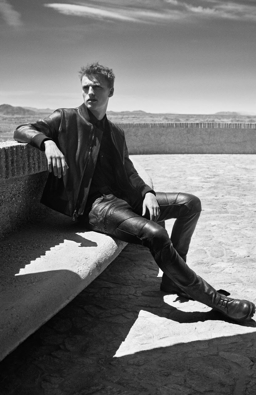 J Brand Fall Winter 2015 Campaign Victor Nylander
