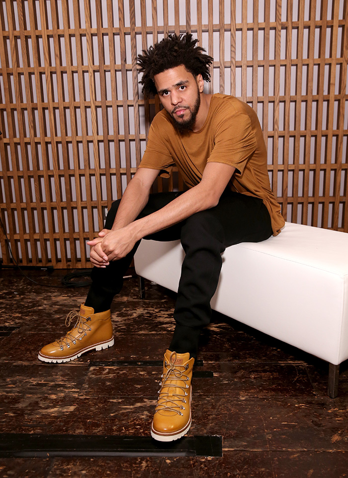J. Cole Collaborates with Bally on Hiking Boots