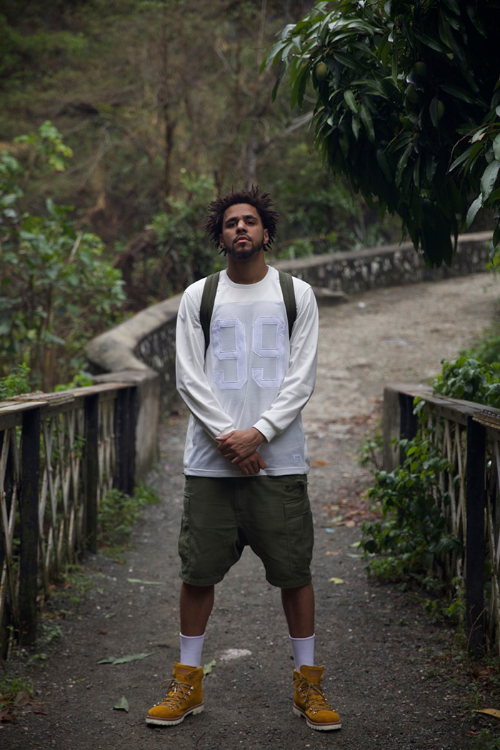 ca342715ac5 J. Cole in Off The Grid wearing a pair of his hiking boots.