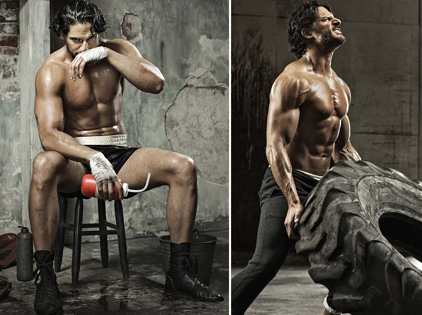 Joe Manganiello Shirtless Workout
