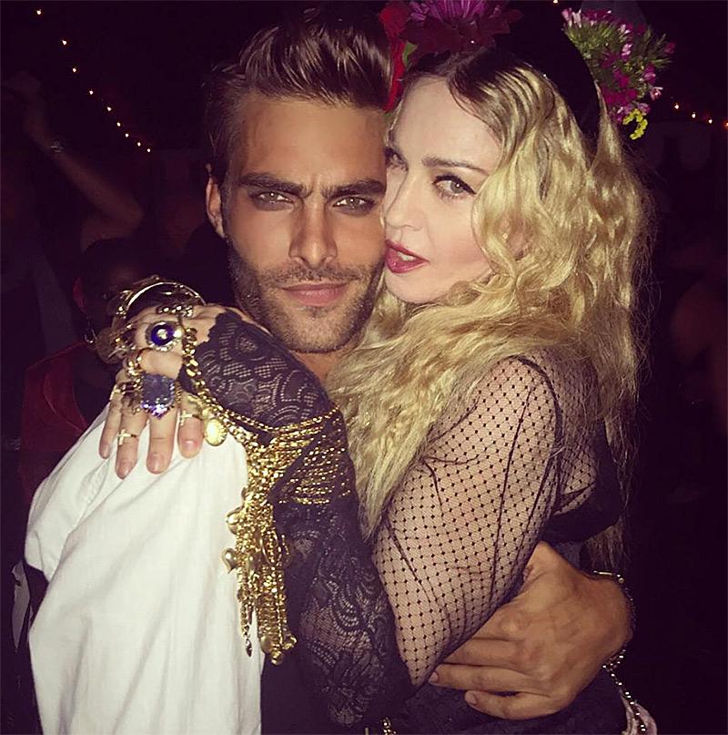 Jon Kortajarena, Miles McMillan + Sampaio Twins Celebrate Madonna's Birthday
