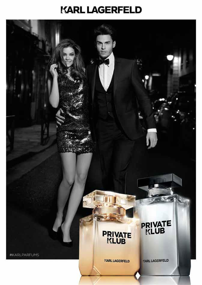 Karl Lagerfeld Private Klub Fragrance Campaign Baptiste Giabiconi