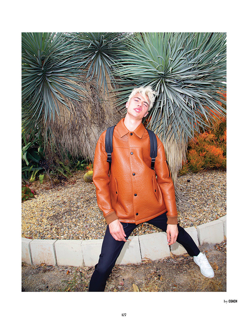 Lucky Blue Smith Gets Cheeky with 10 Men