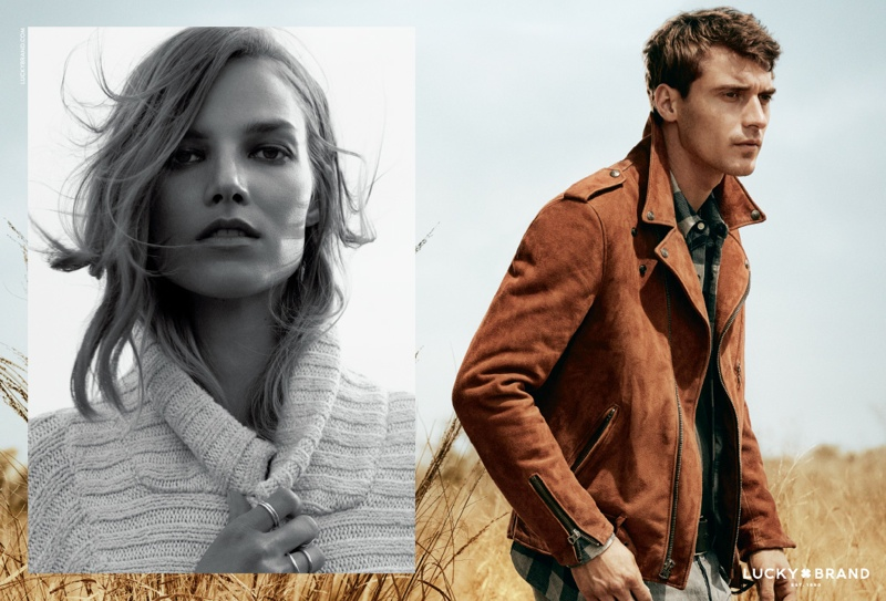 Lucky Brand Fall Winter 2015 Campaign Clement Chabernaud 001