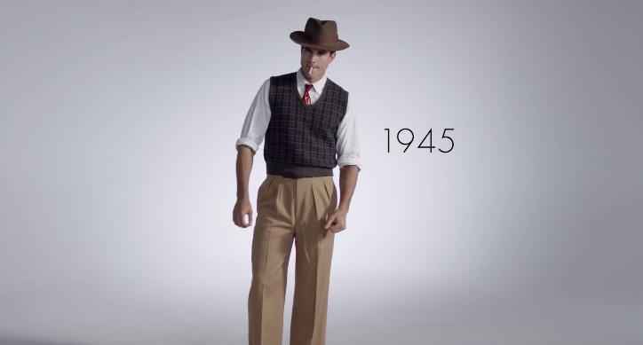 Men's Fashion 1945