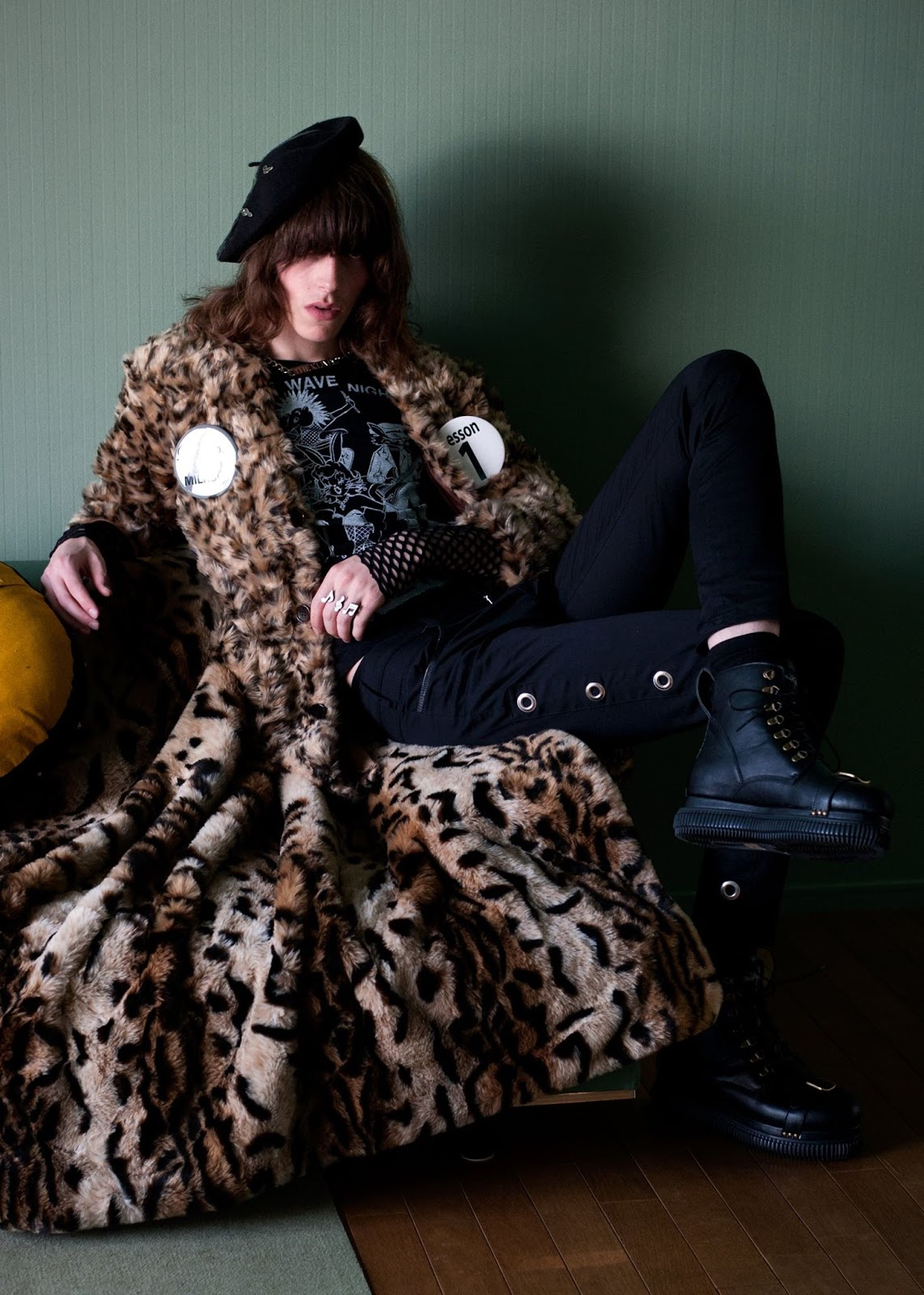 Harry Curran Goes Glam Punk for Milkboy Fall/Winter 2015 Collection