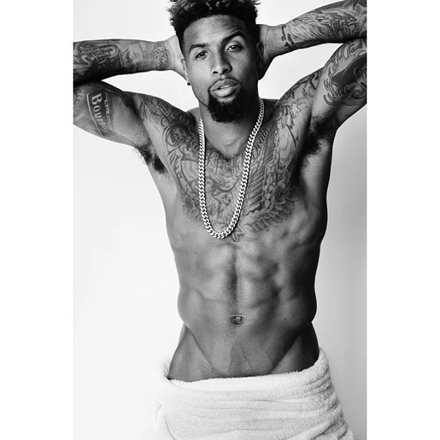 Odell Beckham Jr. Strips Down for Mario Testino Towel Series