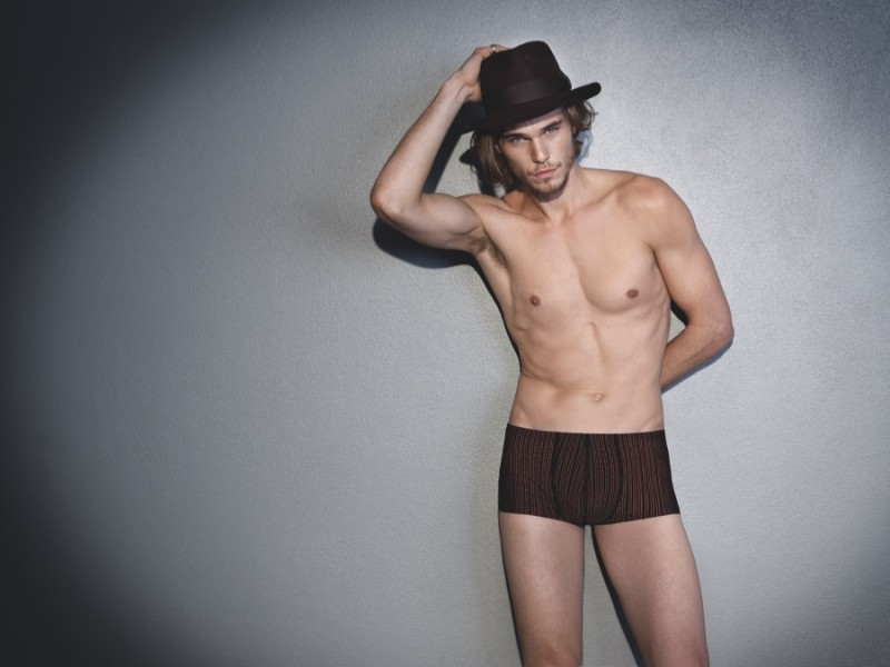 Pete Bolton rocks a hat with HOT Impetus underwear.