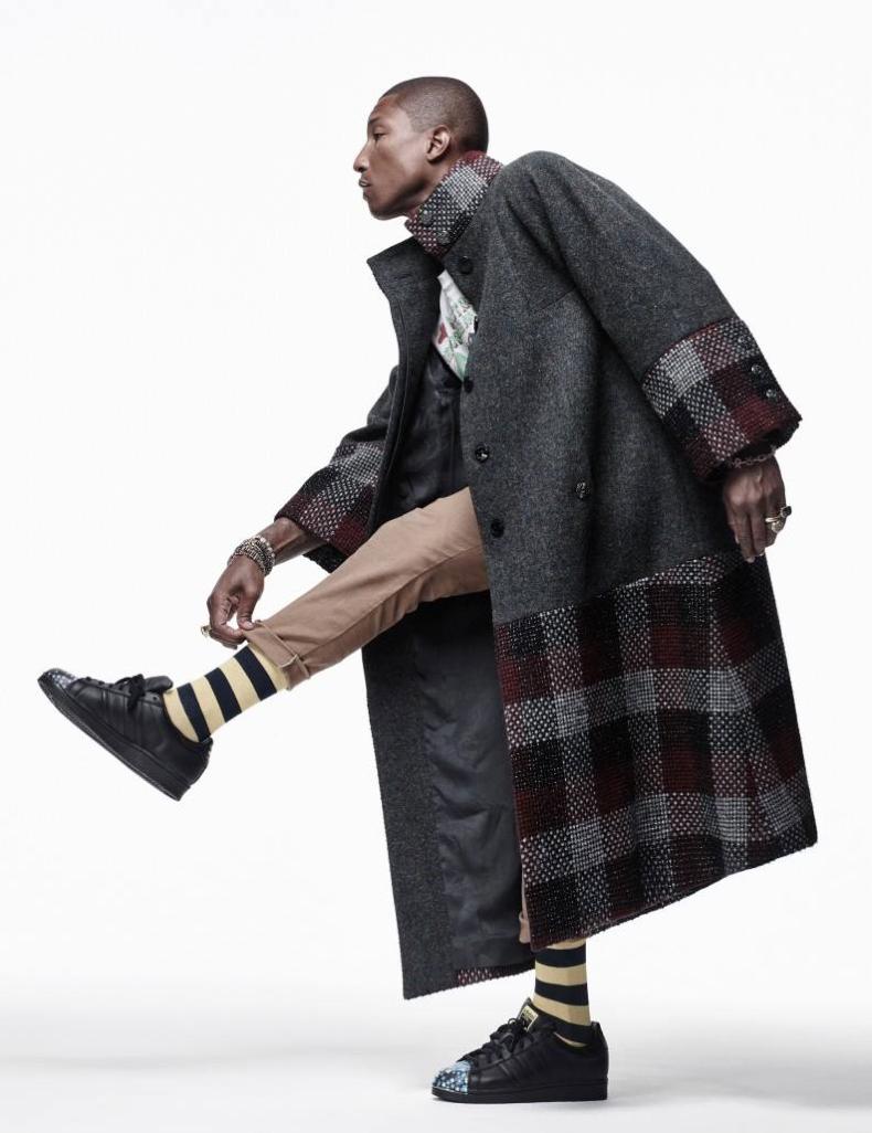 Pharrell Williams photographed by Choi Yong Bin for Harper's Bazaar Man Korea's September 2015 Issue