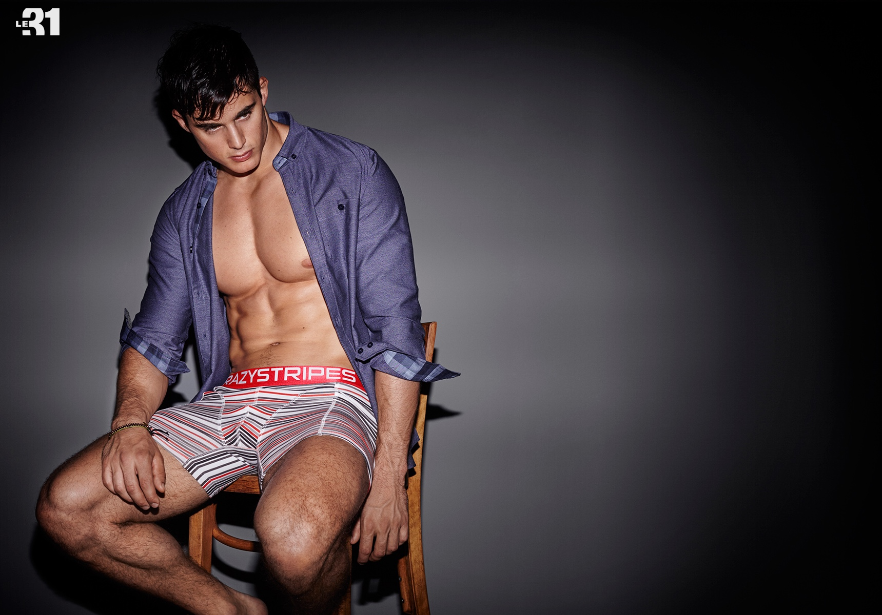 Pietro Boselli for Simons 2015 Underwear Photo Shoot