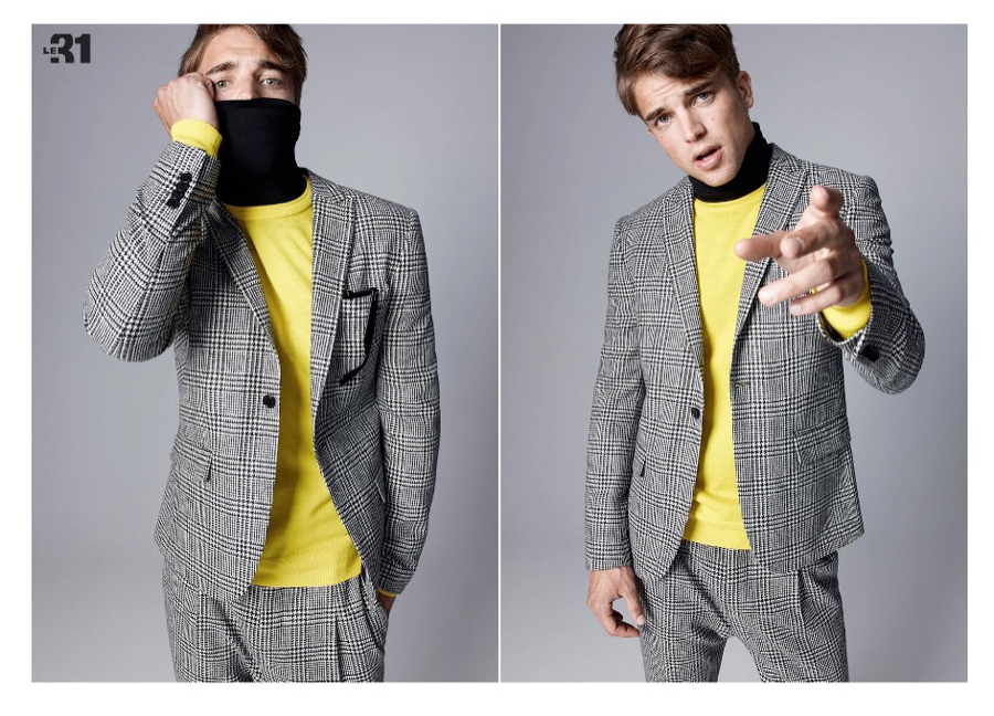 River Viiperi + Sung Jin Park Model Youthful Suiting Styles for Simons