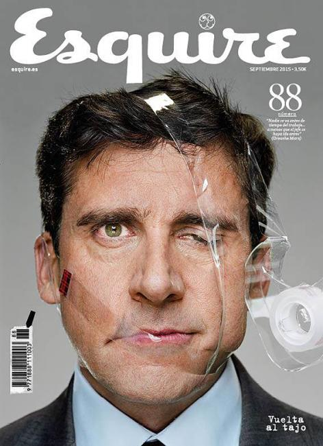 Steve Carell Covers September 2015 Esquire España