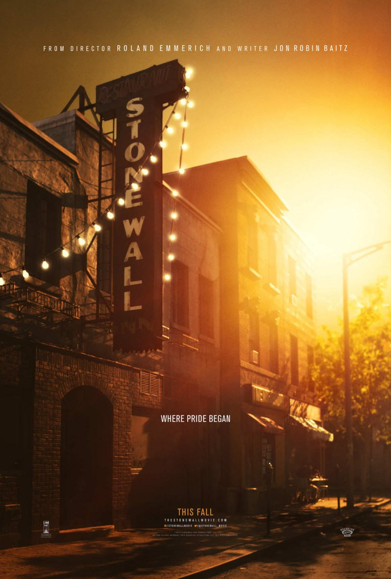 Stonewall Movie 2015 Poster Artwork