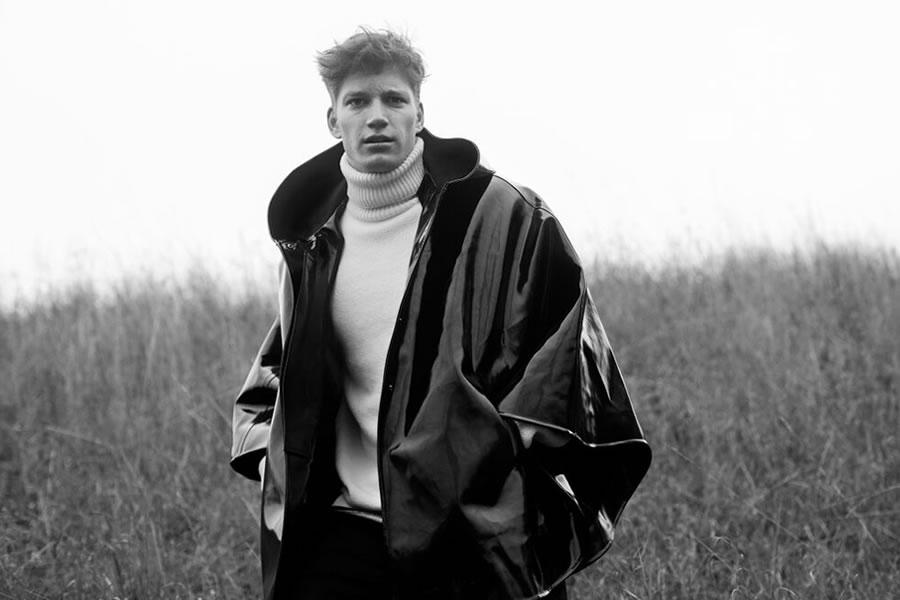 Florian Van Bael Models Modern Outerwear for Stutterheim Raincoats Fall/Winter 2015