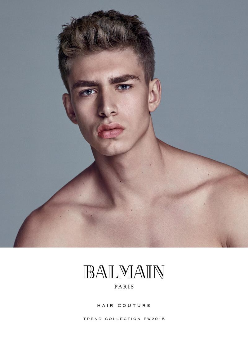 2015 men's hairstyle trends from balmain