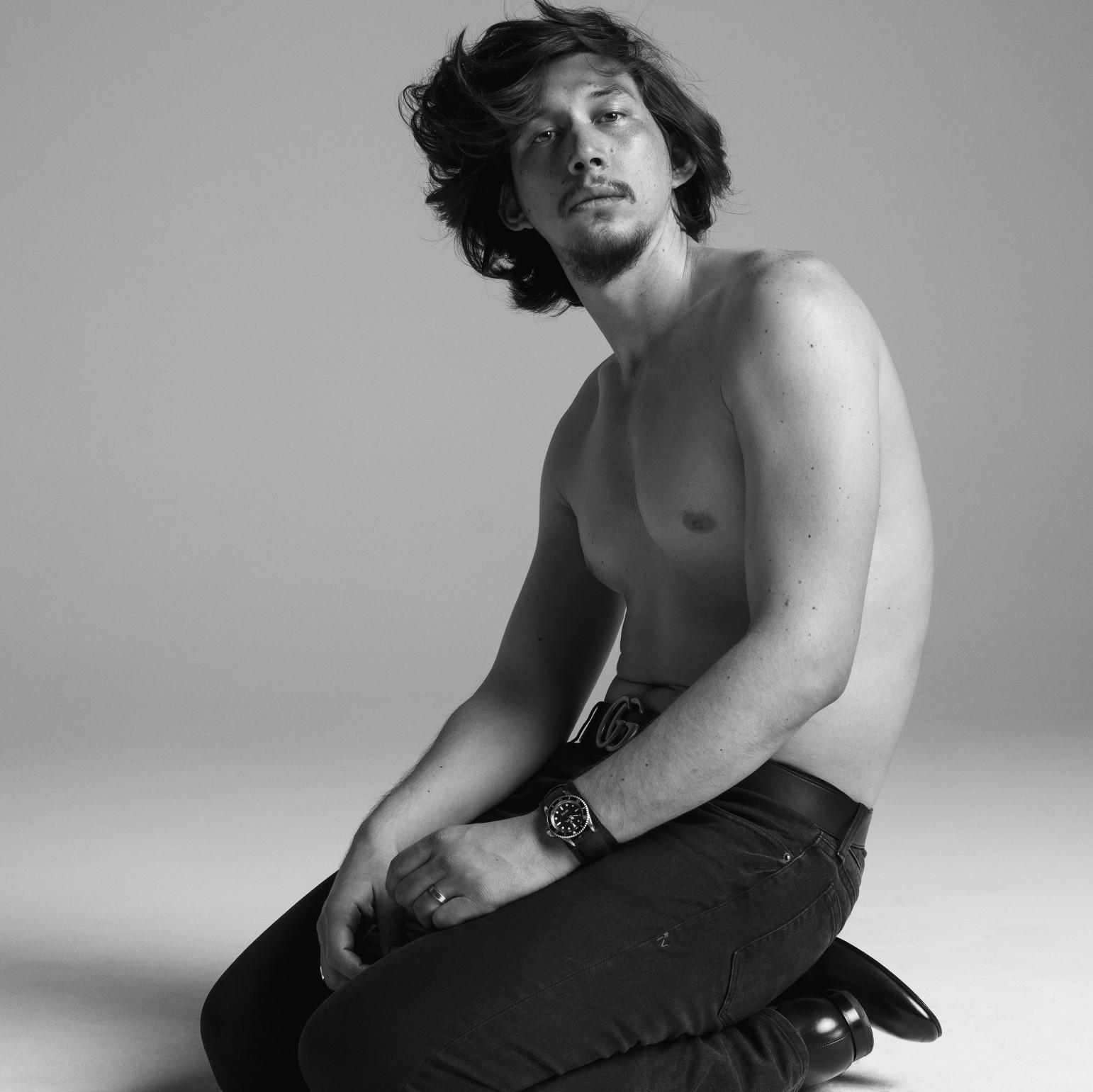 Adam Driver Covers W Magazine, New Royal to Benicio del Toro