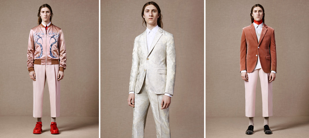 Alexander McQueen Goes Formal Nautical for Spring