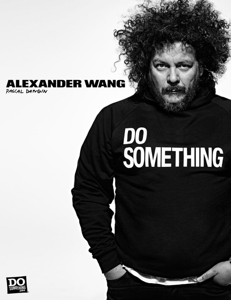 Pascal Dangin for Alexander Wang x DoSomething Campaign