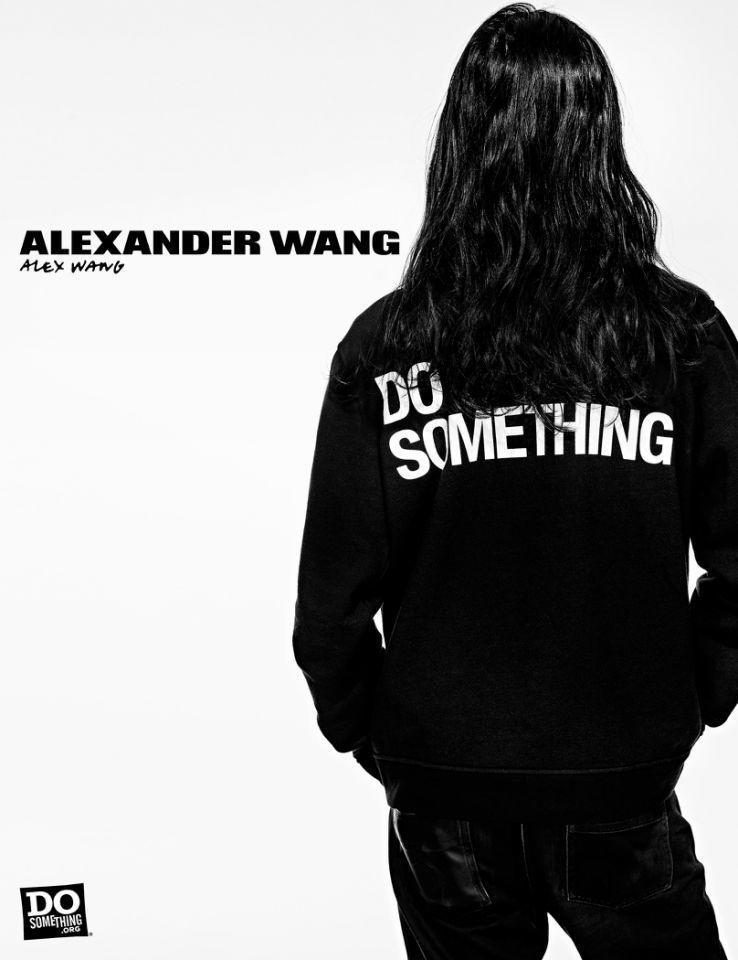 Designer Alexander Wang for Alexander Wang x DoSomething Campaign