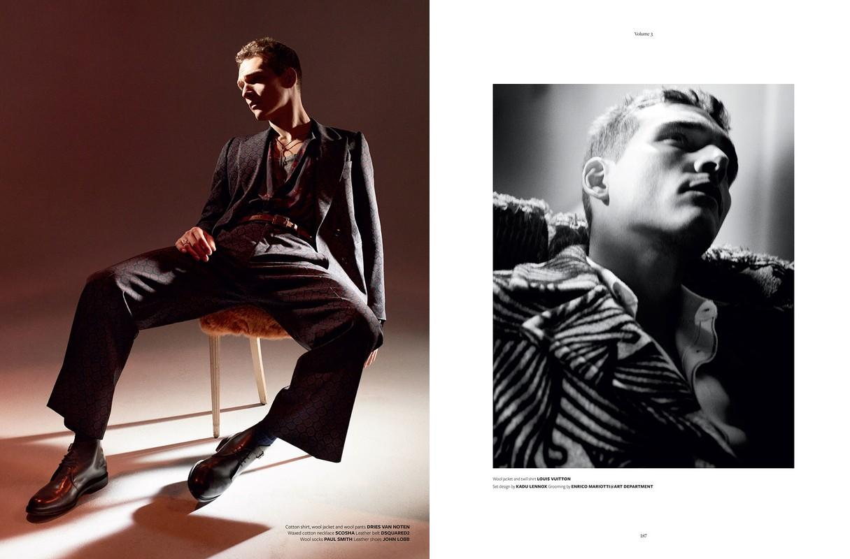 Alexandre Cunha Goes Chic in Fall Fashions for At Large Magazine