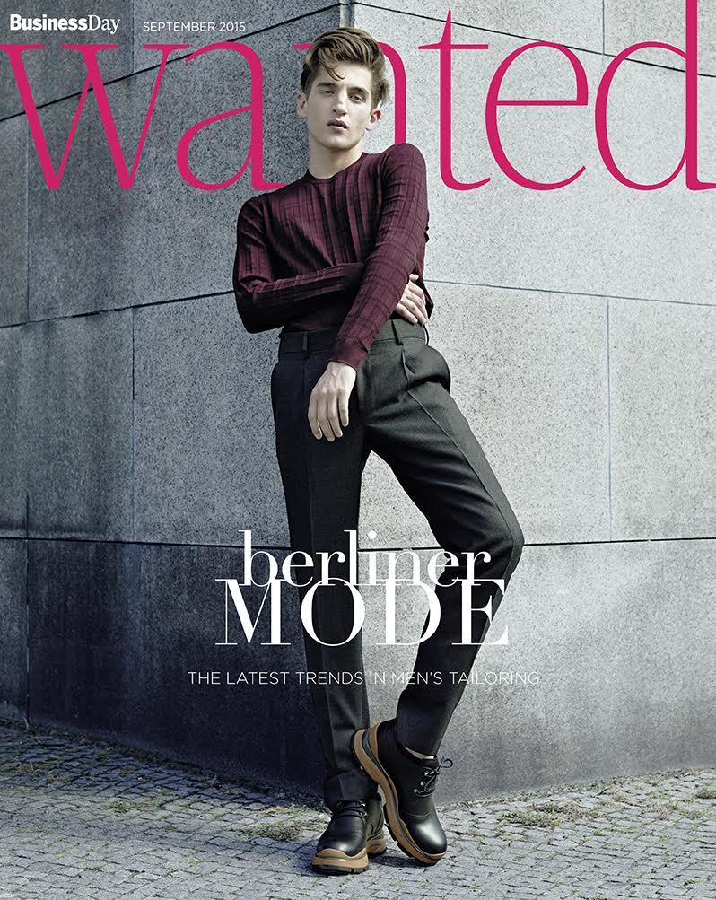Anatol Modzelewski covers Wanted magazine