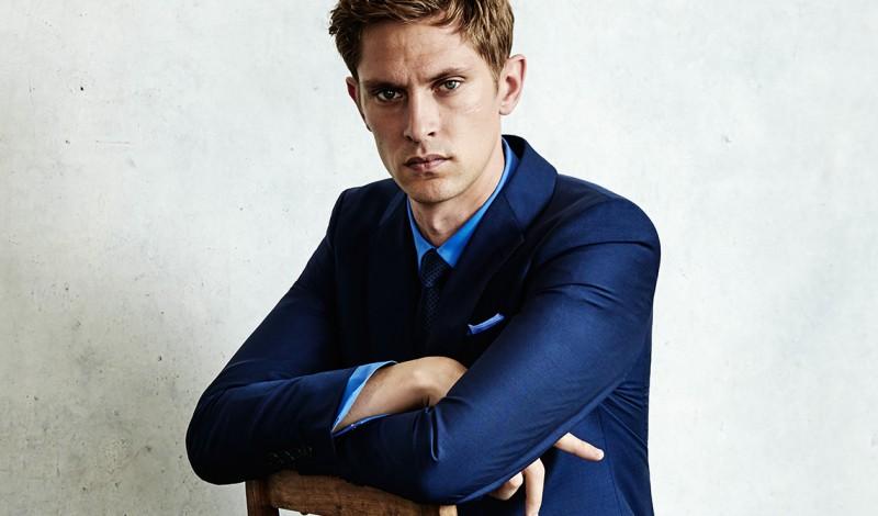 Model Mathias Lauridsen for Aquila
