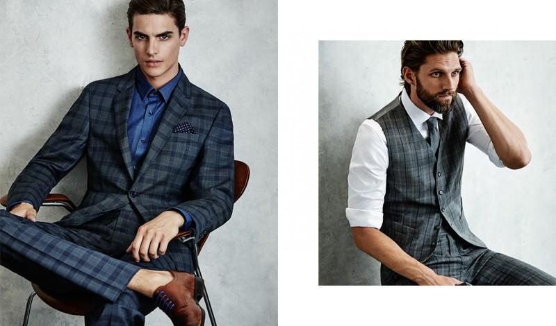 Models Russell Giardina and RJ Rogenski for Aquila