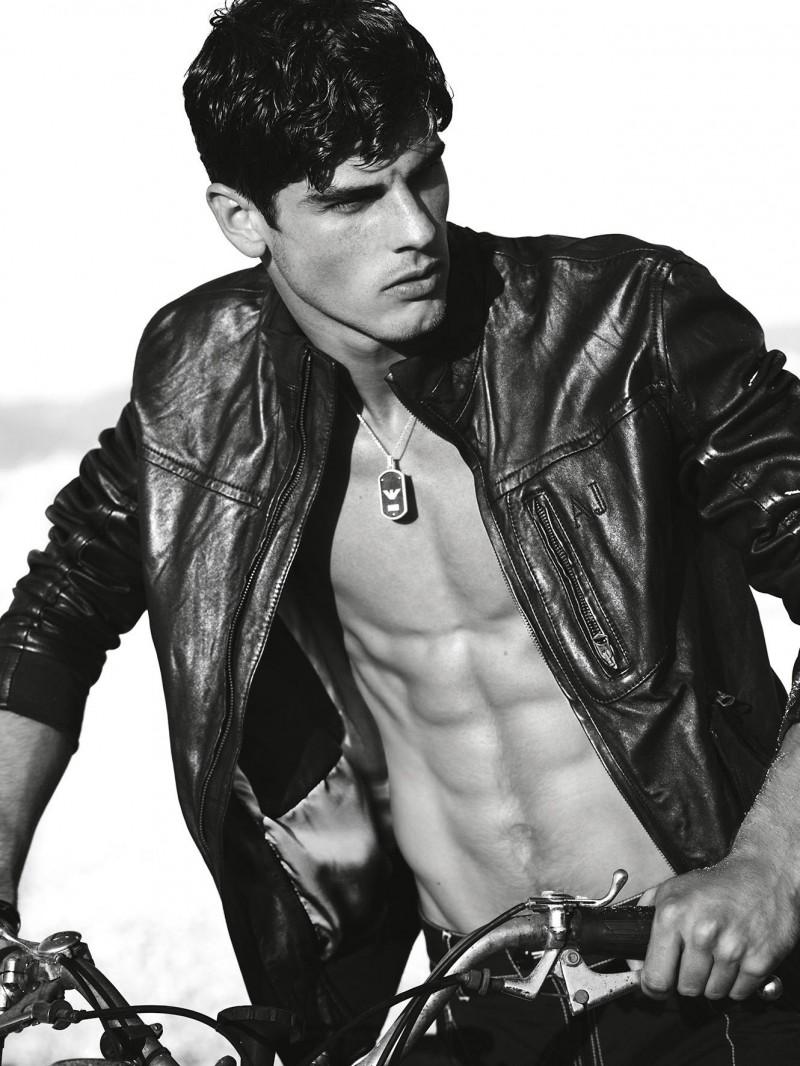 Model Evandro Soldati for Armani Jeans