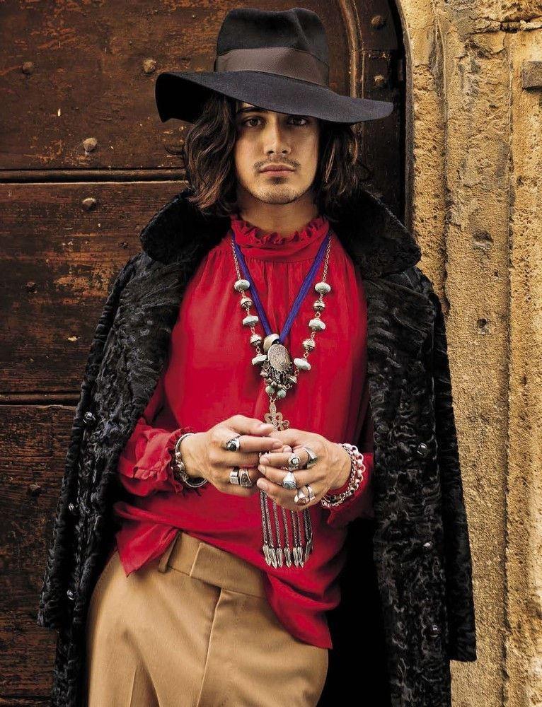 Avan Jogia Embraces Bohemian Styles for L'Uomo Vogue Shoot