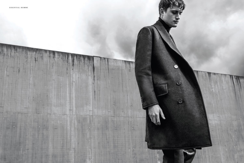 Bastiaan van Gaalen Models Hermès for Essential Homme