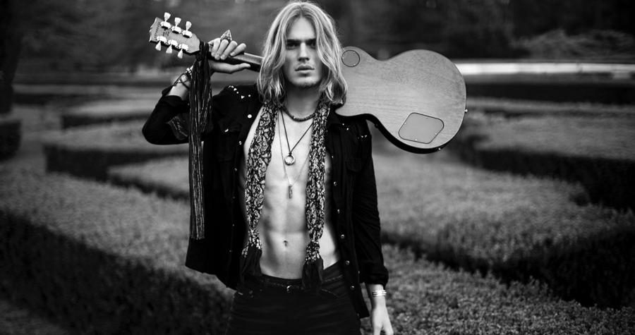 Ton Heukels Embraces Rock & Roll Edge for Bowen Spring/Summer 2016 Campaign