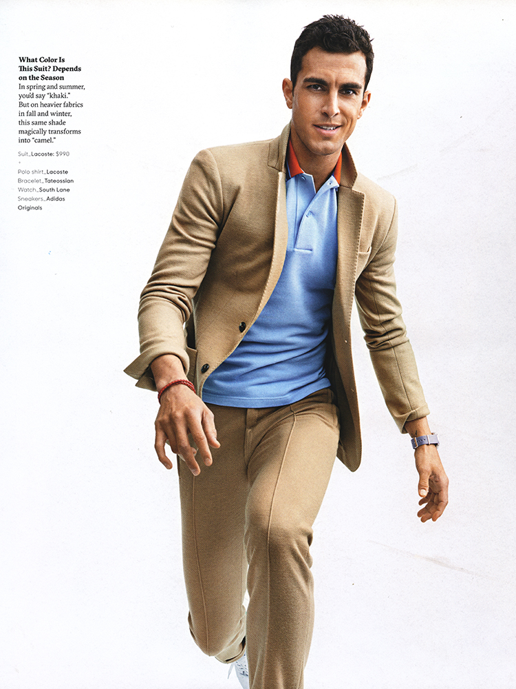 Clint Mauro Serves Up Style Inspiration For Gq Style Fall
