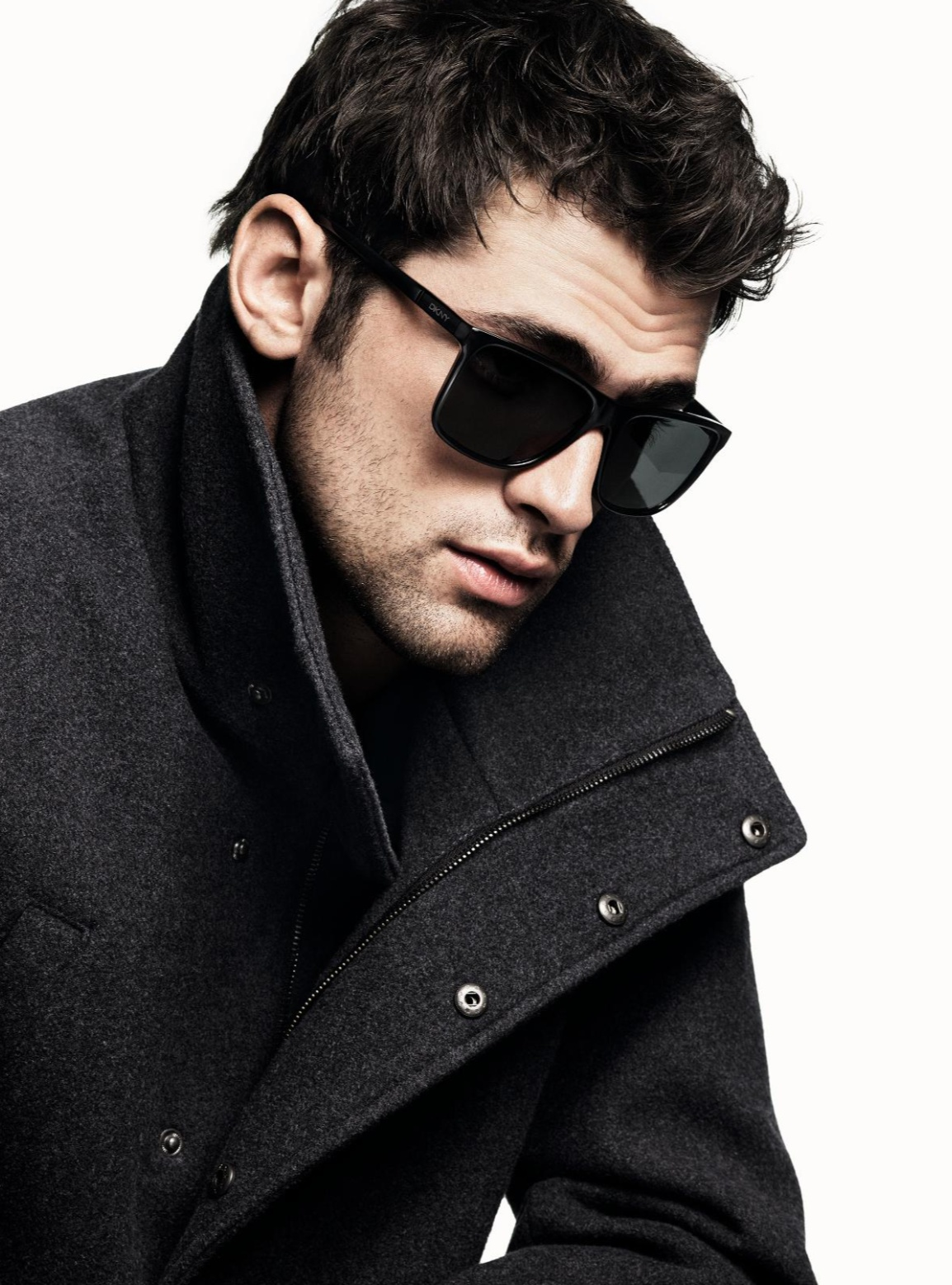 Sean O'Pry Fronts DKNY Campaign