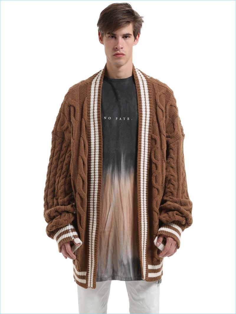 Fisherman Sweater Men