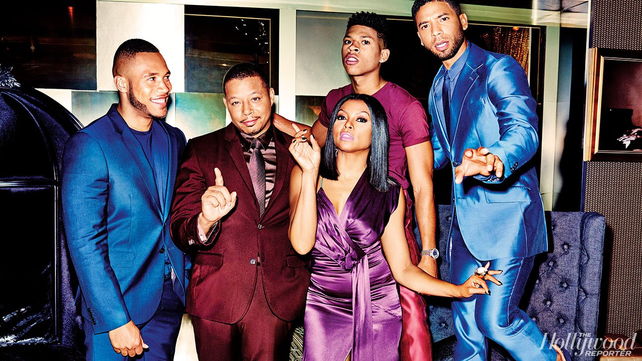 'Empire' Cast Goes Glam for The Hollywood Reporter Shoot