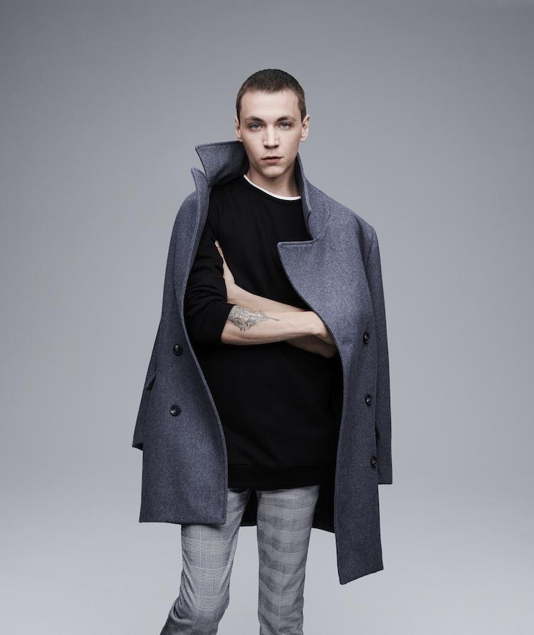 Yuri Pleskun + Nick Rea Front Forever 21 Fall 2015 Men's Campaign