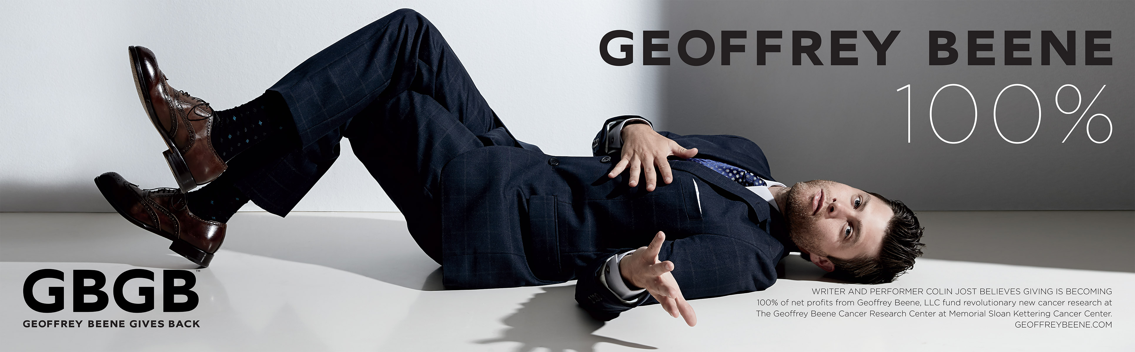 Colin Jost Fronts Geoffrey Beene Fall/Winter 2015 Campaign