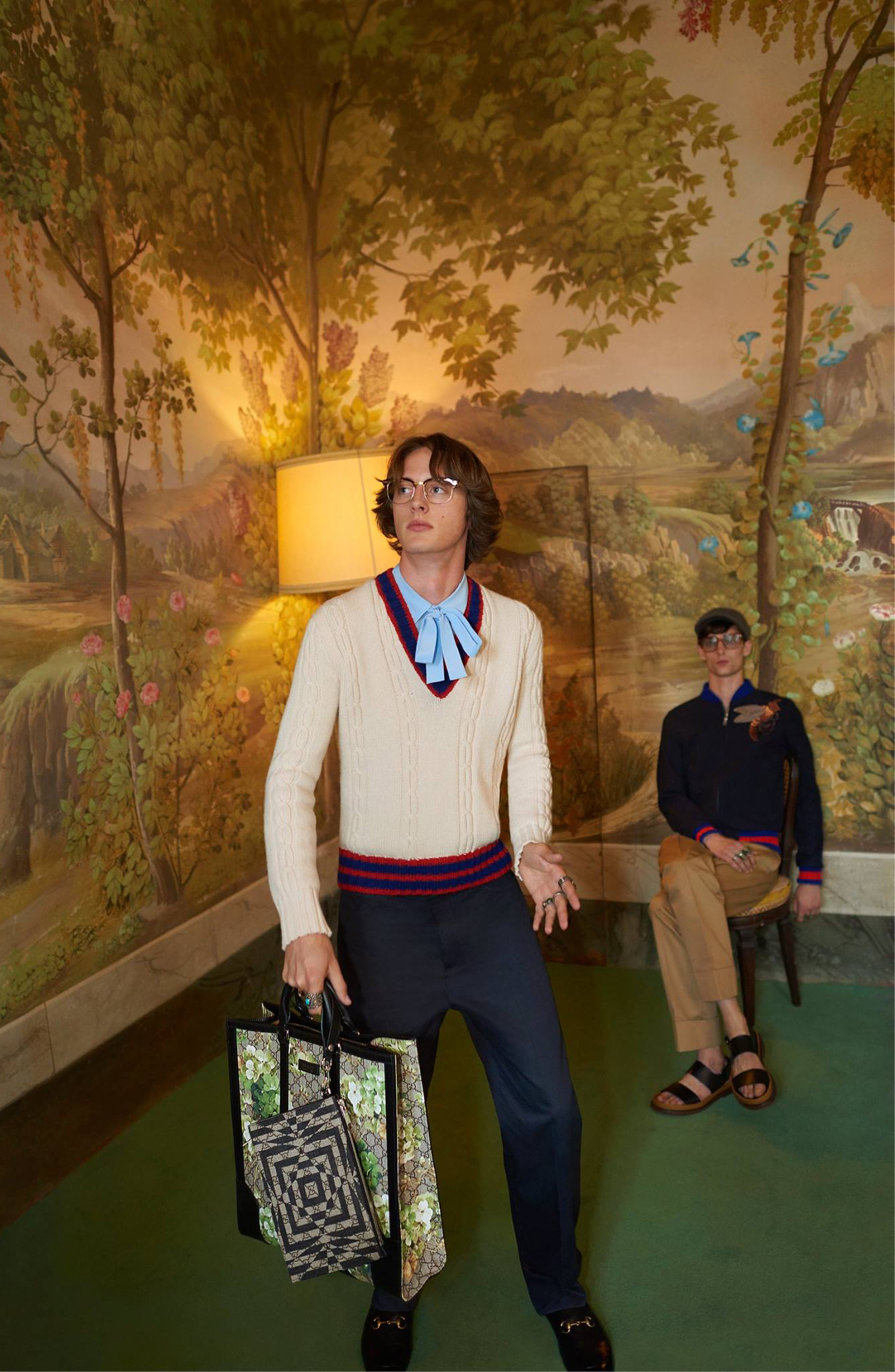 Gucci Cruise Campaign Features Wes Anderson Style Dance-Off