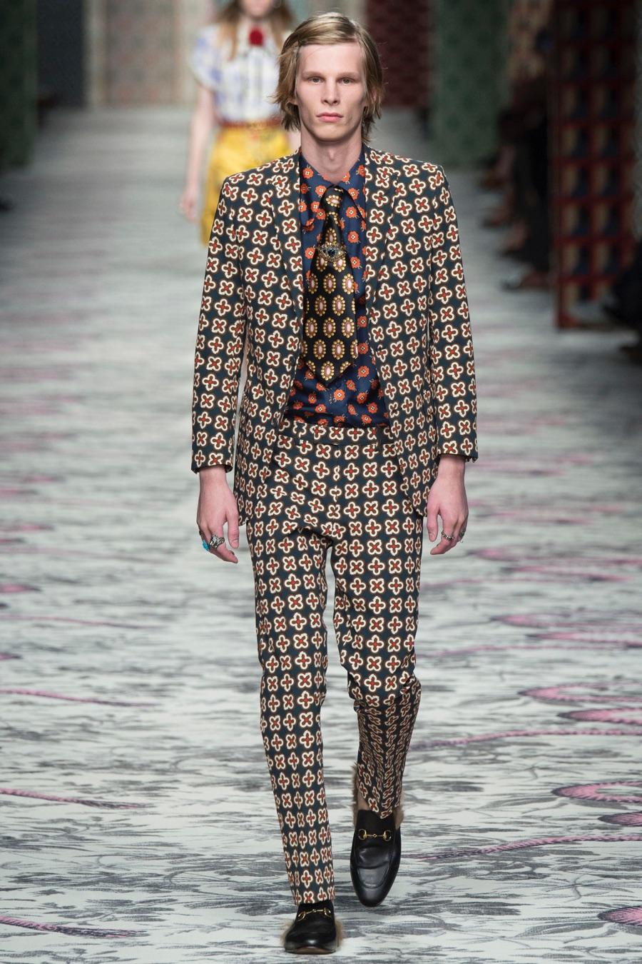 Favoloso Gucci Spring/Summer 2016 Menswear FM19