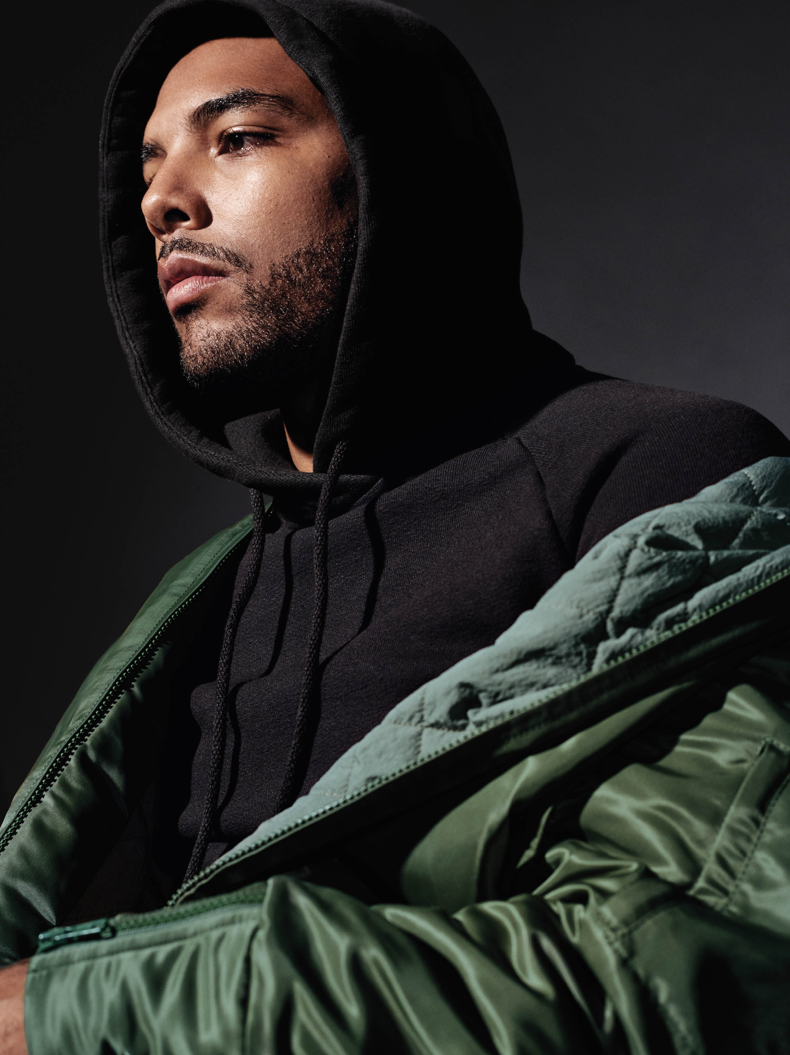 9d73ce225cdab Kanye West Enlists Up & Coming Artists to Model Adidas Yeezy Season 1  Collection