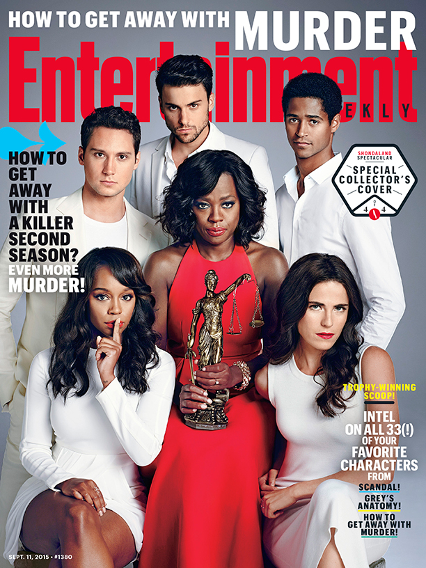 Entertainment Weekly Showcases Shondaland for New Covers
