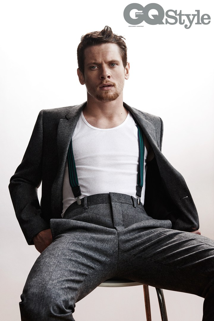 Jack O'Connell Poses for British GQ Style, Talks Staying Out of Trouble