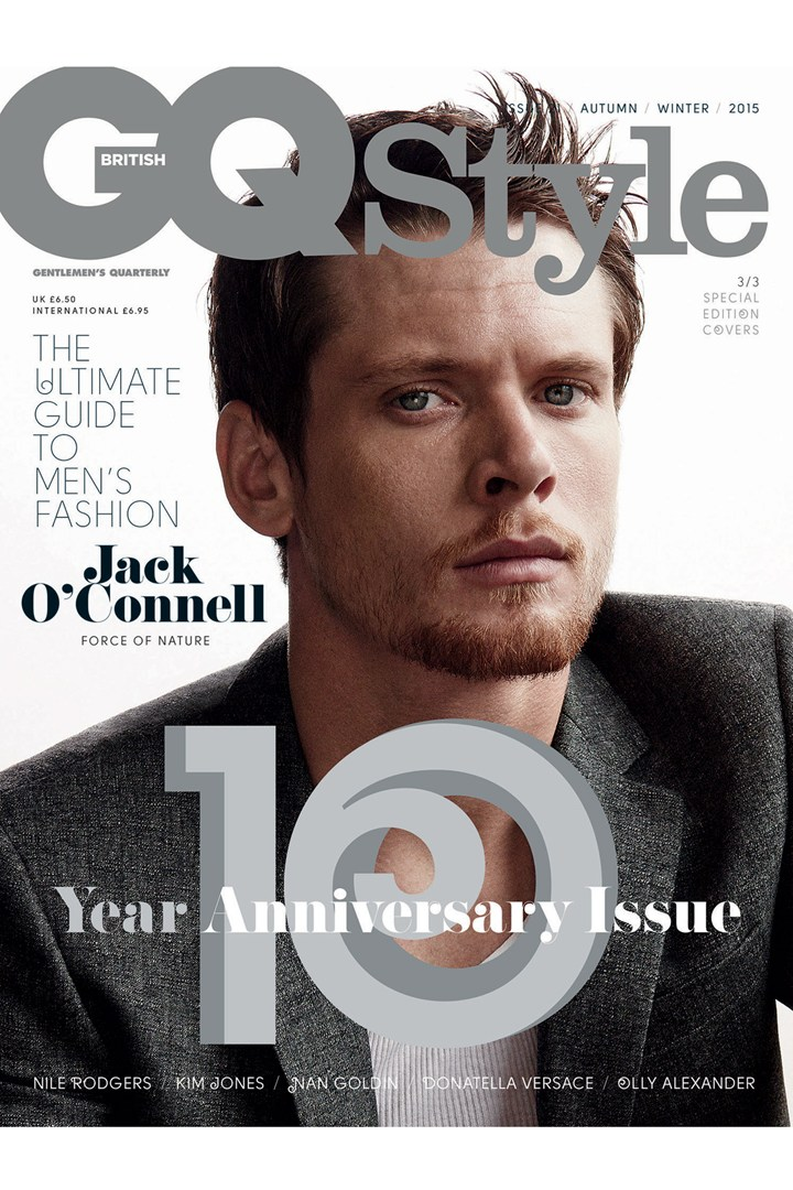 Jack O'Connell covers British GQ Style's fall-winter 2015 issue