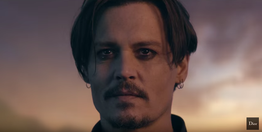 Johnny Depp Becomes a Rock Star for Dior Sauvage Fragrance Campaign