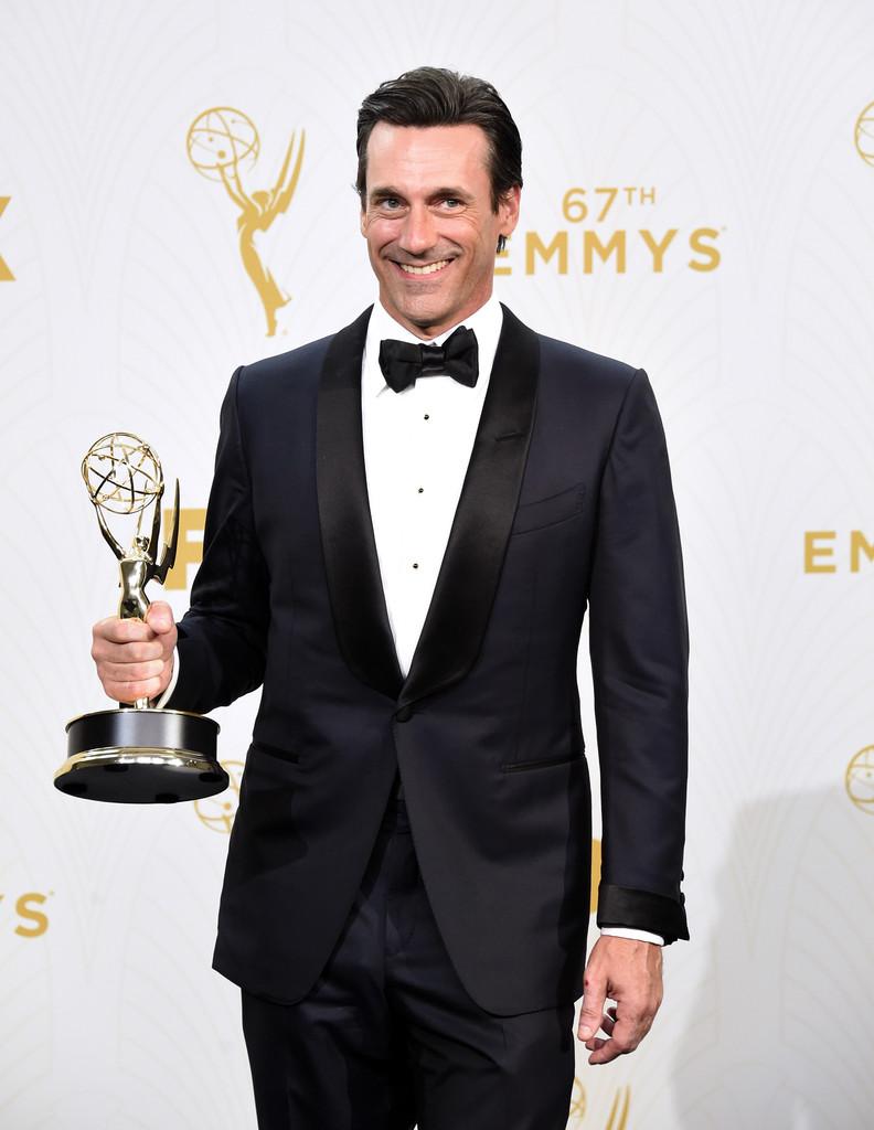 Jon Hamm Wears Tom Ford to 2015 Emmys