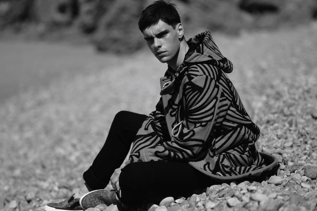 Jonathan Bauer-Hayden Rocks Louis Vuitton for Sorbet Editorial