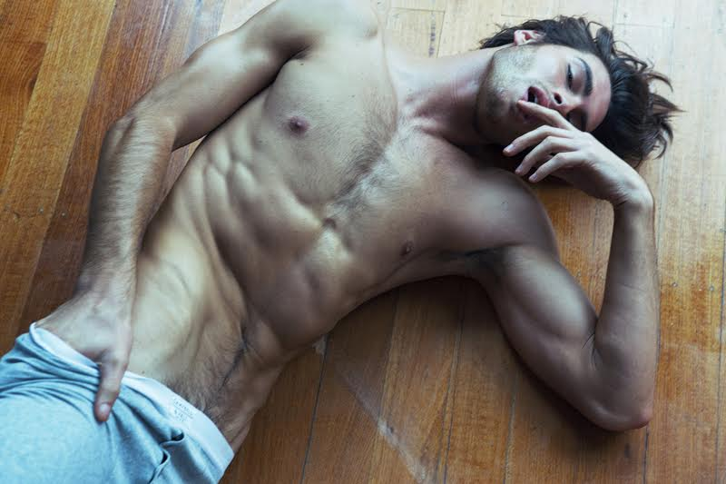 Justin Lacko: Justin Lacko Poses For Racy Shoot By Mikey Whyte