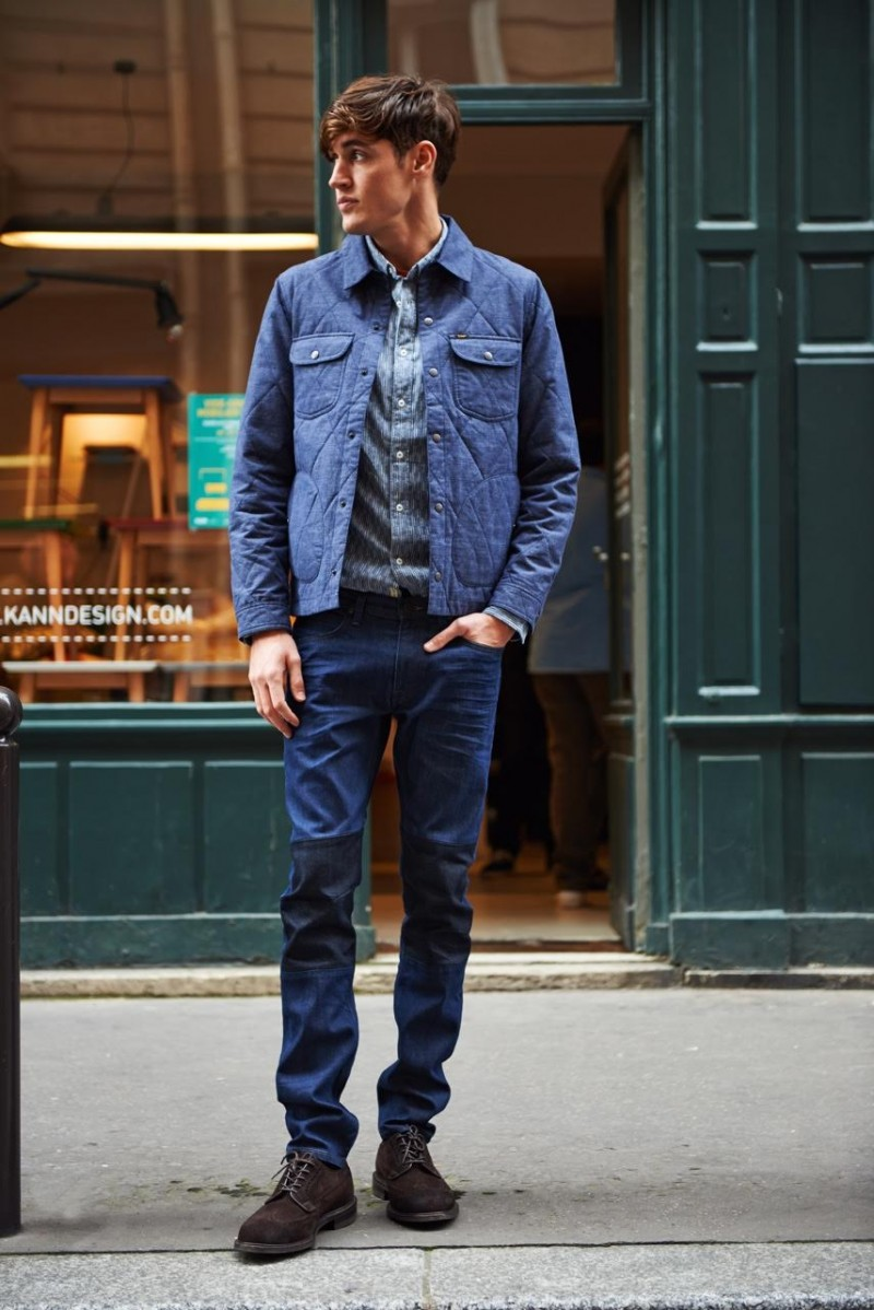 Lee Jeans Showcases Casual Denim Men S Styles For Fall