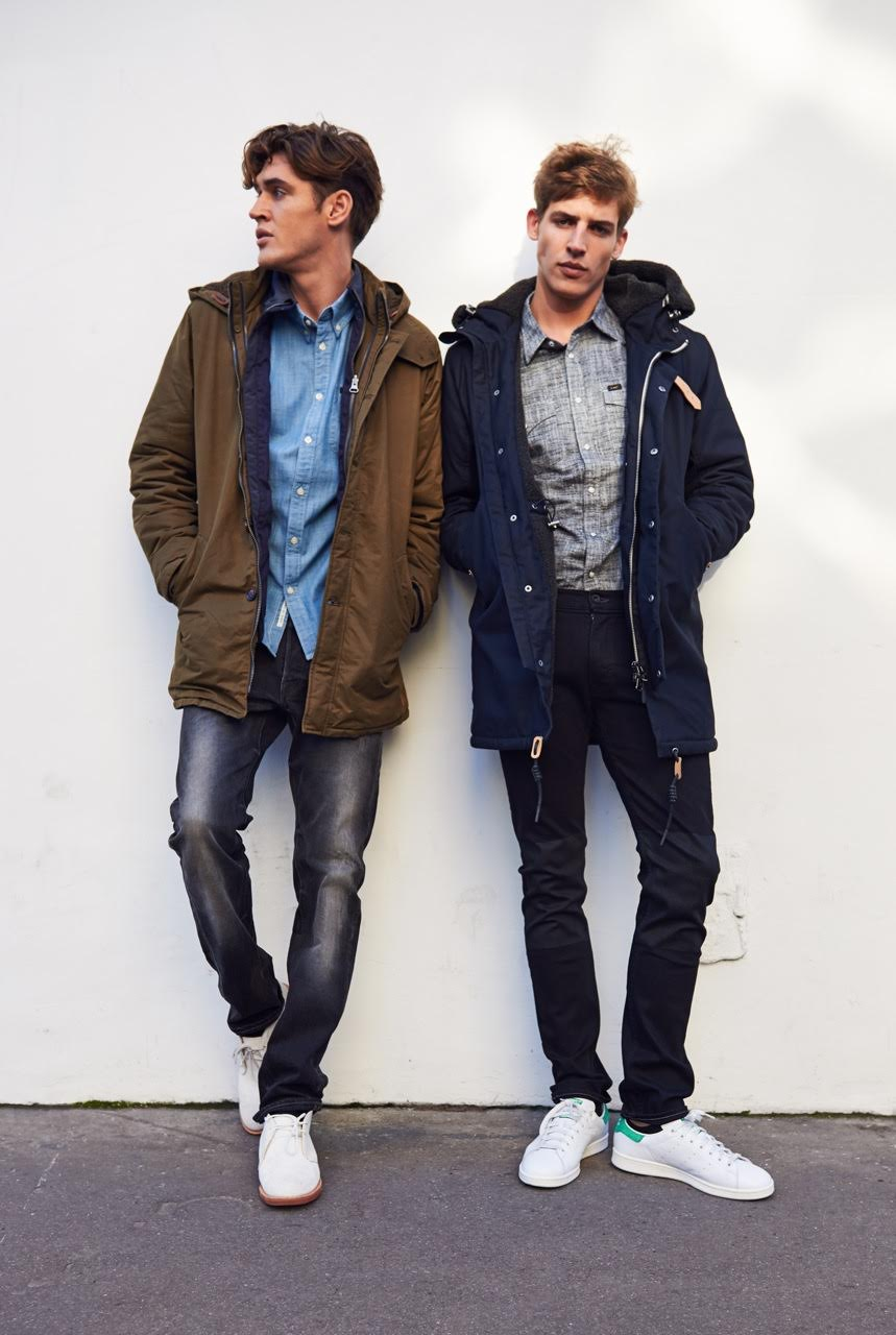 Lee Jeans Showcases Casual Denim Men's Styles for Fall