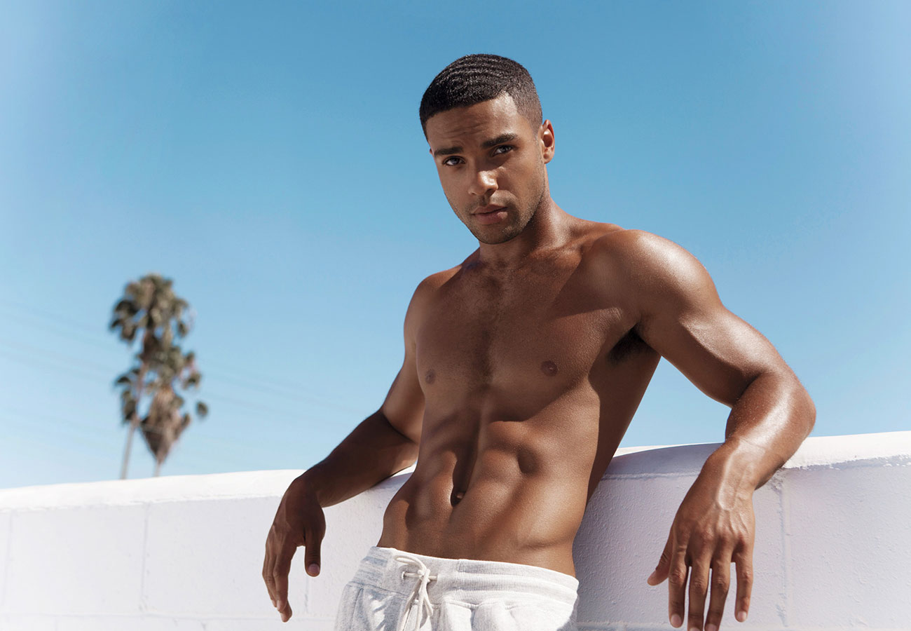 Scream Queens Star Lucien Laviscount Works Out with Details